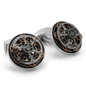 Davide Cotugno Executive Tailors Men's Custom Clothing - Tateossian Mechanical Gear Cufflink