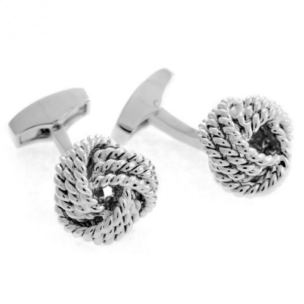 Davide Cotugno Executive Tailors Men's Custom Clothing - Tateossian Knot Braided Cufflinks