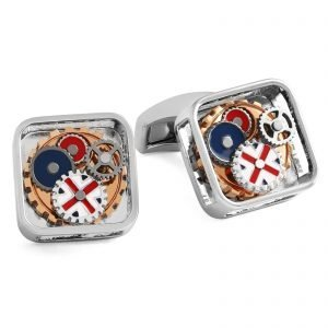 Davide Cotugno Executive Tailors Men's Custom Clothing - Tateossian Gear Britannia Cufflinks