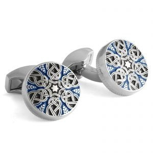 Davide Cotugno Executive Tailors Men's Custom Clothing - Tateossian Woven Cufflinks